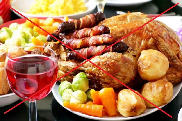 Жирная пища, запрещенная при диете