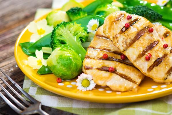 Запеченное куриное филе при белковой диете